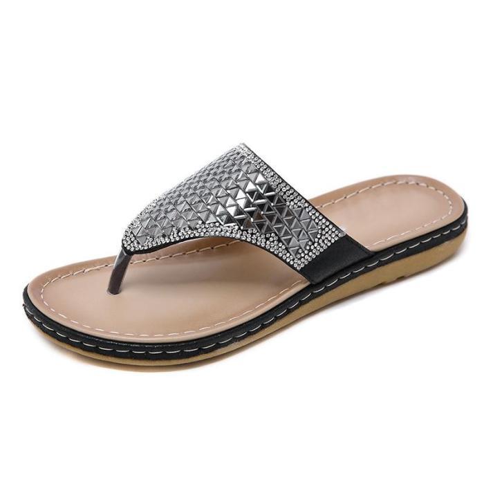 Summer Shoes Woman Sandals Sandalias Slides Wedges Shoes For Women Llat Ladies Sandals
