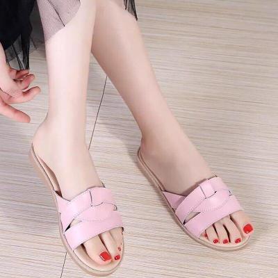 Women Mixed Color Rome Gladitor Slipper Summer Beach Flip Flops Outdoor Open Toe  Slipper Casual Shoes