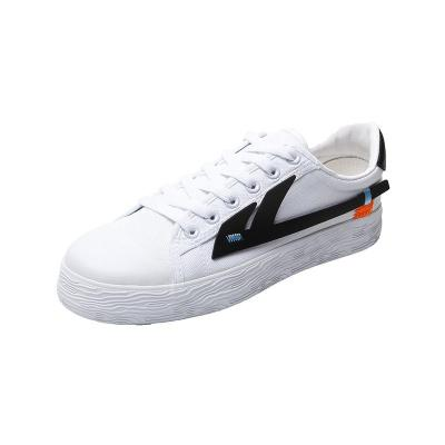 White Shoes Girls 2020 New Flat Canvas Shoes INS Shoes Women