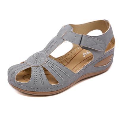 Fashion Summer Women Sandals Female Beach Rome Shoes Wedge Ankle Strap Comfortable Light Platform Sandals Sandalias