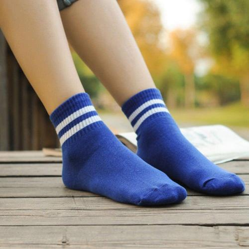 GIRLS FOOTBALL BASKETBALL BASEBALL TENNIS GYM SPORT KNEE HIGH STRIPED SOCKS