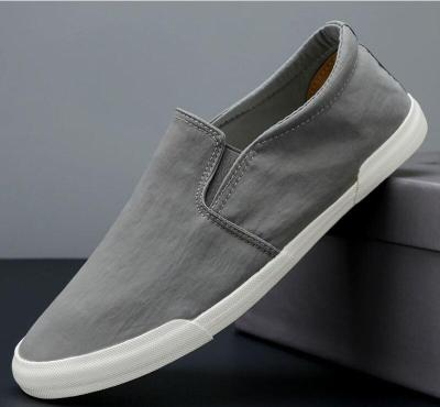 2020 Spring Colourful Cloth Vulcanize Shoes Men Breathable Canvas Sneakers Men's Loafers Lazy Comfortable Shoes