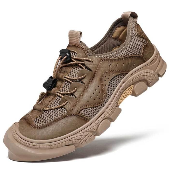 Man Mesh Shoes Summer Men's Casual Shoe Outdoor Walking Footwear Male Sneakers Breathable