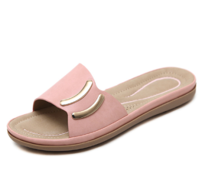 Summer Shoes Women Slippers Thick Sole Non-slip Fashion Flat
