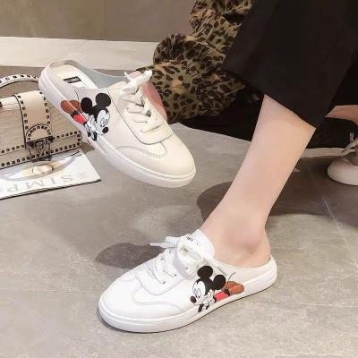 Flats White Shoes for Women2020 Print Shoes In Summer
