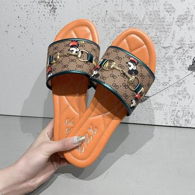 Style Cool Women's Shoes Summer Wear New Canvas Slippers for Women