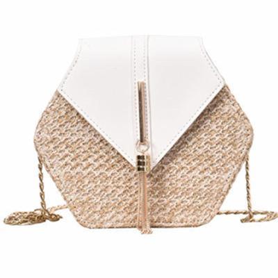 Handbag Women Handmade Woven Beach Circle Bohemia Shoulder Bag New Fashion