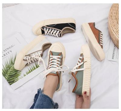 2020 Spring New Women's Shoes Fashion Ins Versatile Casual Canvas Shoes