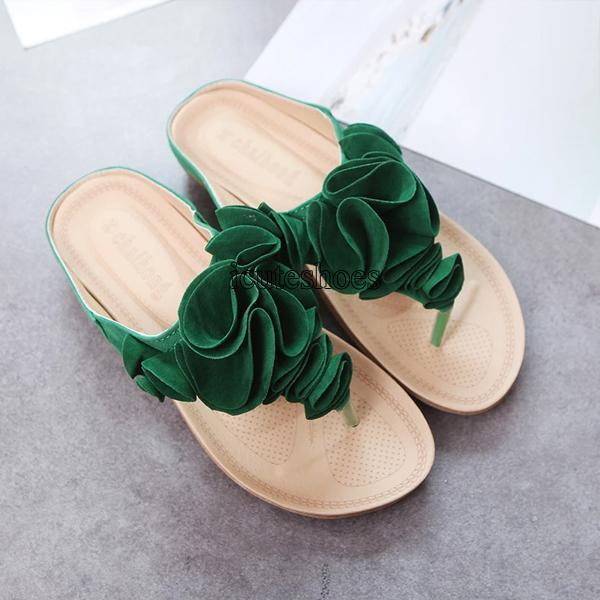 2020 Summer New Bohemian Slippers Women's Cool Slippers Flat Sandals for Women