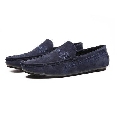 Genuine Leather Men Casual Shoes Classic Fashion Loafers Slip on Men Flats Male Driving Shoes Size