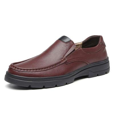 Man Leather Shoes Spring Male Loafers Casual Shoe Clax Men's Walking Footwear