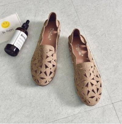 Summer Women Flat Shoes Soft Casual Loafers Female Ballet Flats