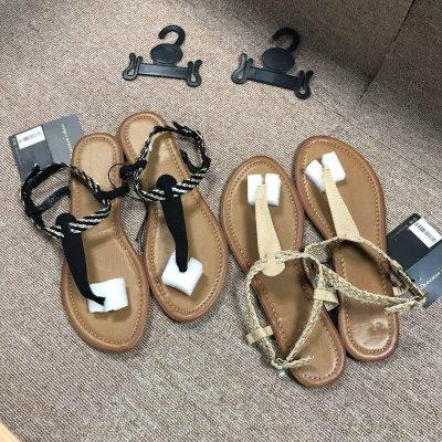 Fashion Women's Summer Sandals Beach Shoes Woven Flat Comfortable Female Sandals