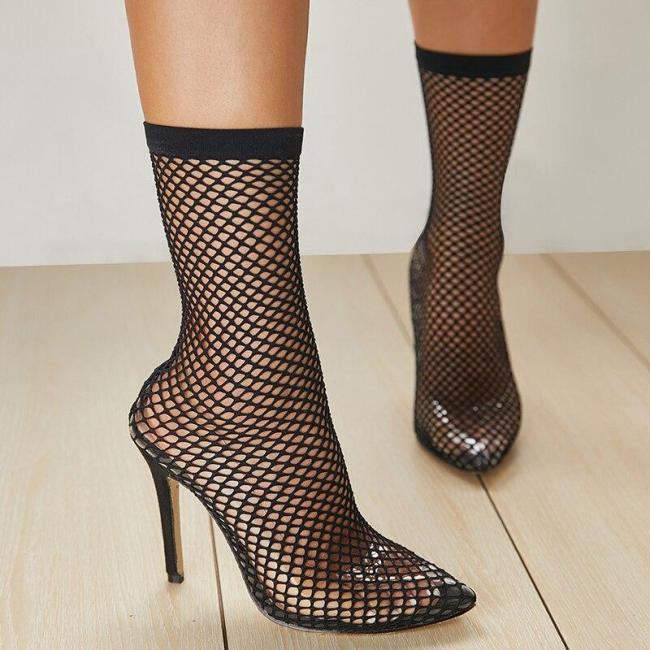 Summer Women High Heels Sandals Female Stripper Gladiator Transparent Shoes Lady Sexy Sandals