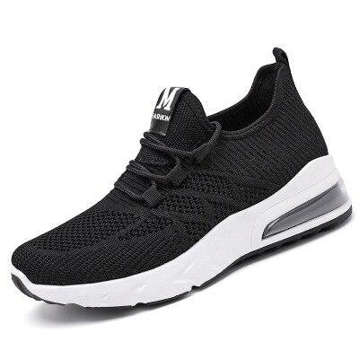 Shoes Flats Sneakers Comfort Summer Mesh Breathable Solid Slip Lace Up on Walking Shoes Sports Casual