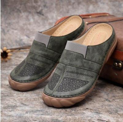 Summer Women Sandals Rome Retro Slippers Thick Bottom Beach Shoes Female Open Toe Comfortable Plarform Sandalias