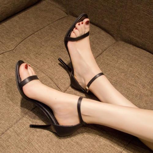 Sandals Women Summer New Buckle Women's Sexy Fashion Sandals Slim Shoes