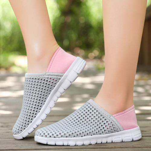 Casual Woman Flats Slip on Shoes for Women Loafers Lightweight Breathable New Womens Walking Flat Shoe