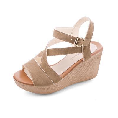 Summer New Women's Sandals Slope Heel Women's Shoes Fashion Sandals Wedges