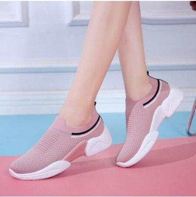 Women's Sneakers Women Fashion Girls Striped Sneaker Casual Shoes Women