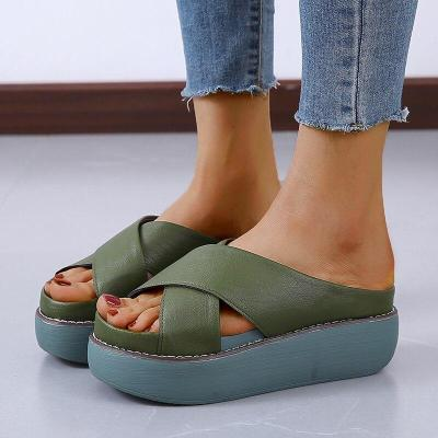 Women Platforms Sandals Fashion Beach Chunky Slippers Outdoor Casual Shoes