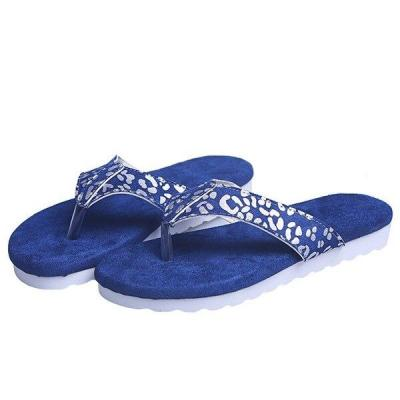 2020 Summer New Women's Beach Slippers Flat Sandals Open Toe Outdoor Flat Shoes