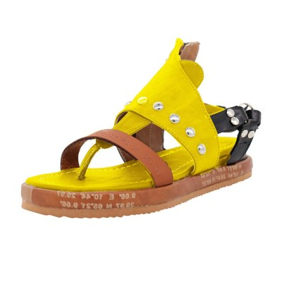 Shoes Woman Sandals Flat Casual Summer Sandals Women's Fashion Rome Flip Flops Wedges Sandals