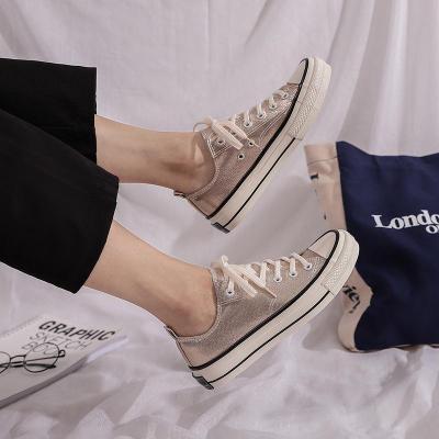 2020 Canvas Shoes Female Versatile Style for Women Flats