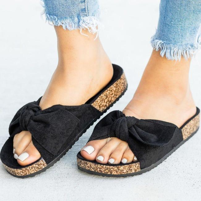 Flip Flop Slip-On Wedge Heel Platform Casual Rubber Slippers