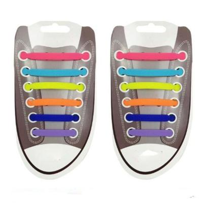 New Unisex Adult Athletic Running No Tie Shoelaces Elastic Silicone Shoe Lace All Sneakers Fit Strap T Shape