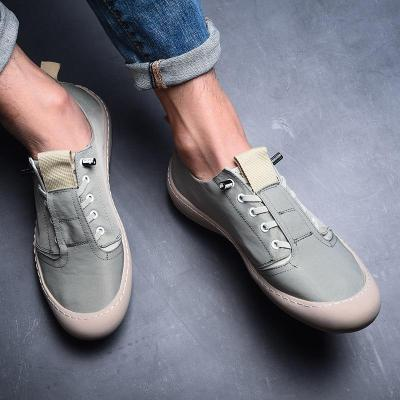Brand Men's Canvas Loafers Vulcanize Shoes Simple Male Cloth Casual Sneakers Breathable Wear-Resistant Non-Slip Flats