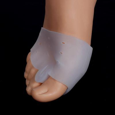1pair=2pcs Hallux valgus Orthotics Silicone Toes Separator The big Toe Bunion Corrector Foot Daily Use Orthopedic pad Insoles