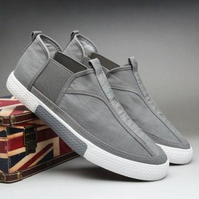 New Canvas Vulcanize Shoes Men Spring Wild Leisure Loafer Shoes Breathable Korean Trend British Male Stitching Sneakers