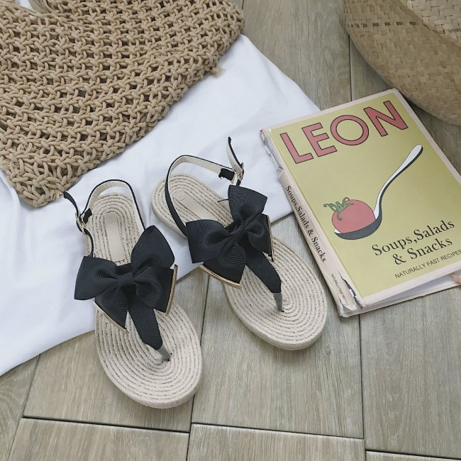 Summer New Fashion Bow Sandals for Women