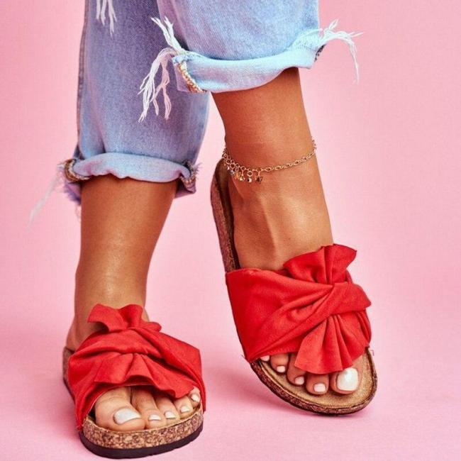Sandals Slipper Indoor Outdoor Beach Shoes Summer Women's Shoes Flip Flops on The Flatform