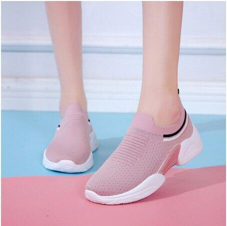 Women's Sneakers Women Fashion Girls Striped Sneaker Casual Shoes Women