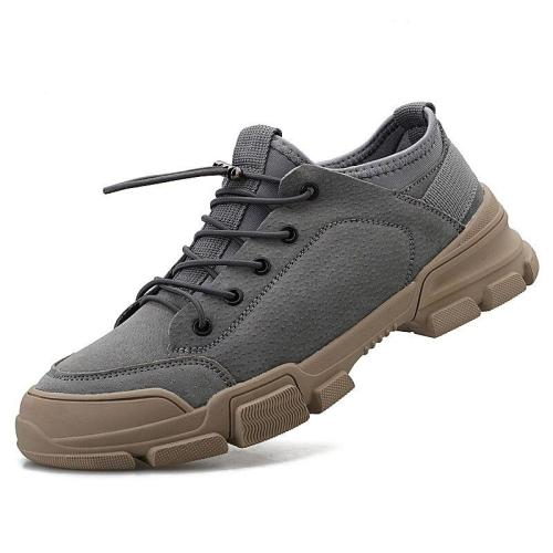 Man Fashion Shoes Suede Leather Sneakers Male Casual Shoe Design clax Men's Walking Footwear Soft