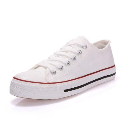 Women Shoes Female Casual Sneakers Comfortable Solid Red White Black Blue Canvas Shoes for Women Season