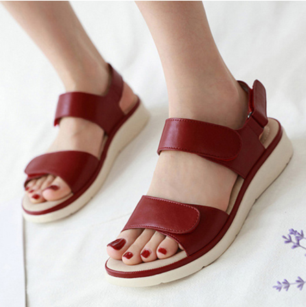 Summer Shoes Sandals Holiday Beach Wedges Women Slippers Soft Comfortable Ladies