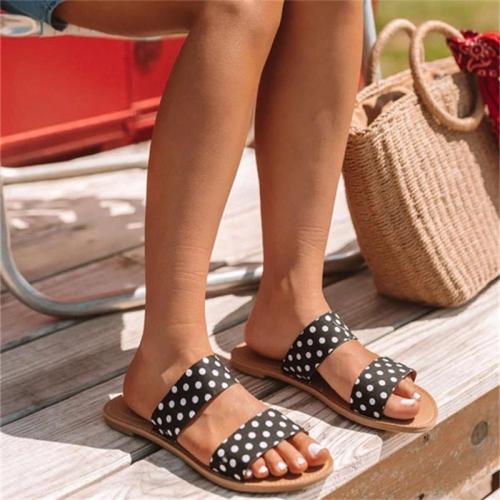 Women Sandals Ladies Large Size Flat Female Beach Shoes