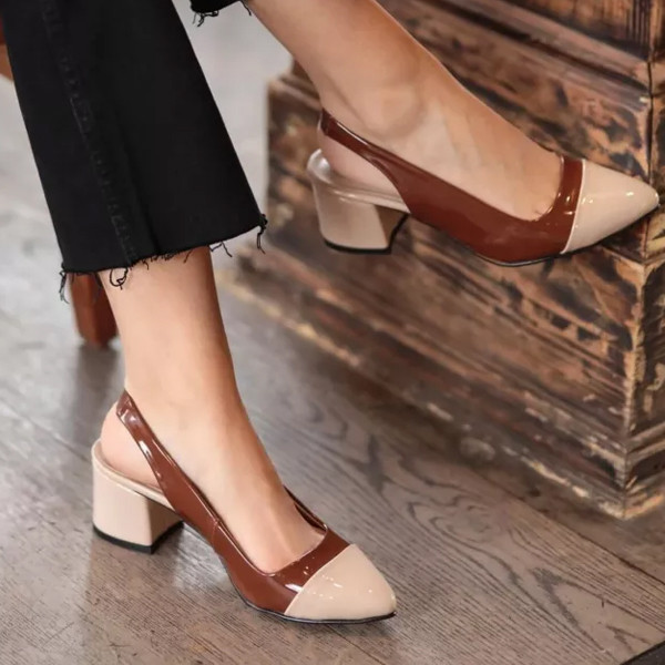 Short Heels Women Shoes Pointed Sexy Female Summer Shoes Pumps