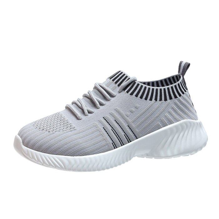 2020 New Fashion Vulcanized Shoes Sock Sneakers for Women Breathable Shoes Casual Lightweight Ladies Trainers