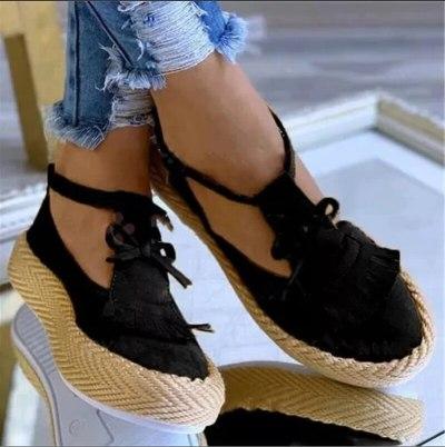 Women Summer Sandals Back Strap Buckle Platform Wedges Mid Heel Increasing Height Fashion Beach Ladies Shoes