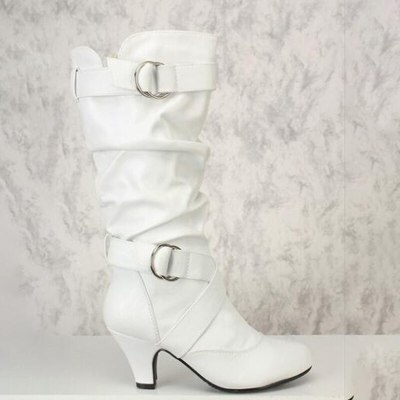Ankle Boots Fashion Sexy Over Knee High Boot High Heel Boots Shoes Boots