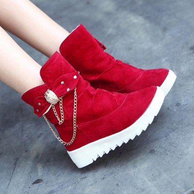 2020 Winter New Snow Boots Women's Boots  Women's Tube Casual Bow Snow Boots Warm Cold Burning Feet Women's Boots Cotton Shoes