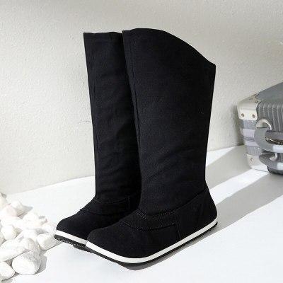 Knee High Boots Winter Warm Shoes Women 2020 New Women Snow Boots Plush Inside Good Quality Thigh High Boots Women