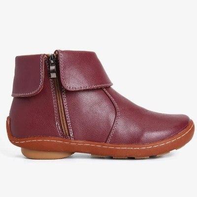2020 Winter Women Slip Resistant Comfy Keep Warm Casual Ankle Short Boots Zipper Soft Comfy PU Leather Boots Women Botas