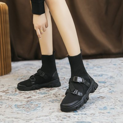 Women Ankle Boots High Platform Boots Ladies Party Wedges