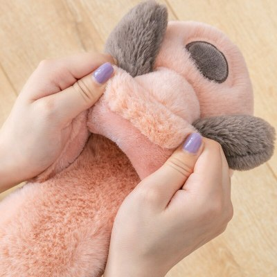 2020 Women Furry Slippers Ladies Home Shoes Cute Plush Fluffy dog animal Women's Fur Slippers Casual flat Indoor Slippers Women