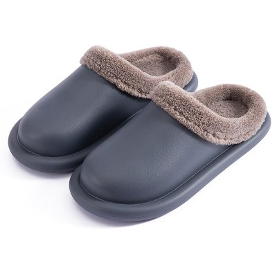 Women Winter slippers Retro Female shoes EVA waterproof platform house slippers Indoor Soft Unisex fluffy slippers high quality